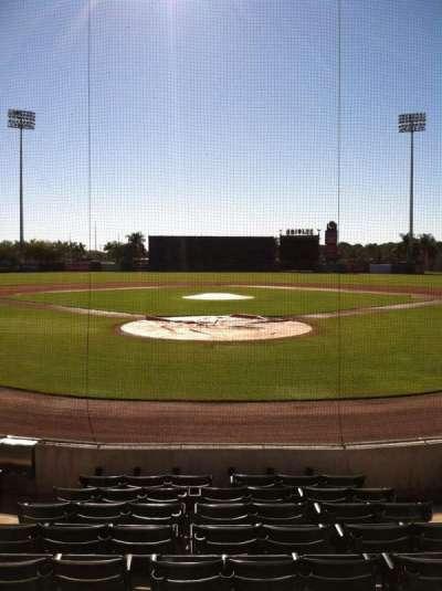 Ed Smith Stadium, section: 113, row: 9, seat: 5