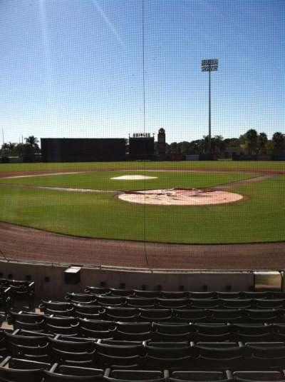 Ed Smith Stadium, section: 114, row: 9, seat: 5