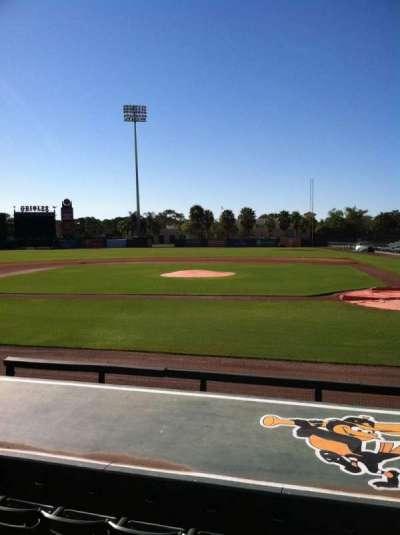 Ed Smith Stadium, section: 116, row: 9, seat: 9