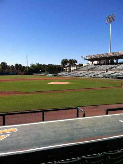 Ed Smith Stadium, section: 119, row: 9, seat: 5