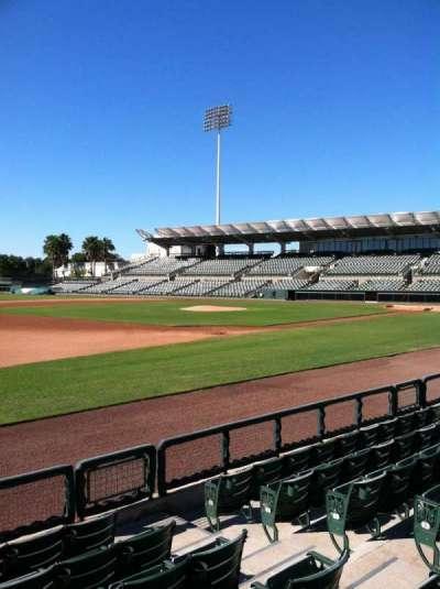 Ed Smith Stadium, section: 122, row: 5, seat: 5