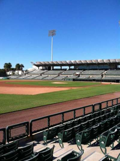 Ed Smith Stadium, section: 123, row: 5, seat: 5