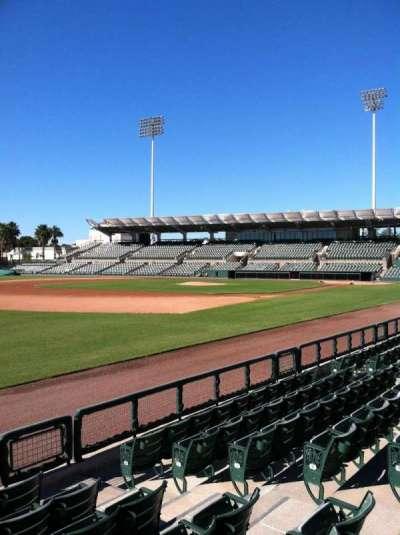 Ed Smith Stadium, section: 124, row: 5, seat: 5