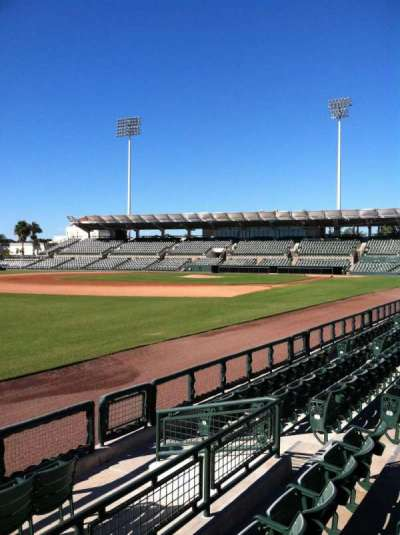 Ed Smith Stadium, section: 125, row: 6, seat: 9