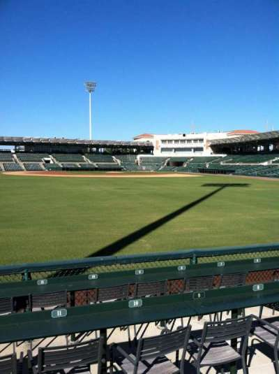 Ed Smith Stadium, section: 129, row: 3, seat: 11