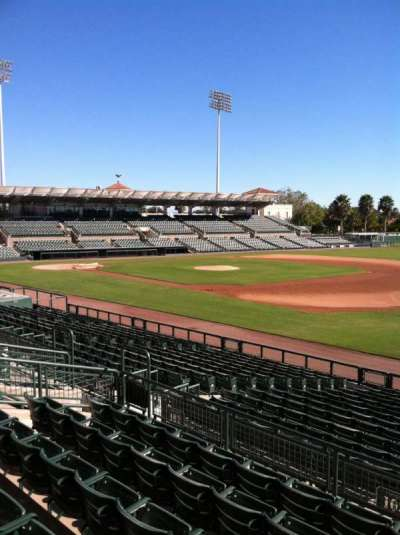 Ed Smith Stadium, section: 203, row: 7, seat: 12