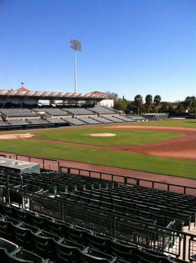 Ed Smith Stadium, section: 205, row: 7, seat: 12