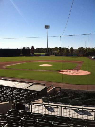 Ed Smith Stadium, section: 215, row: 7, seat: 9