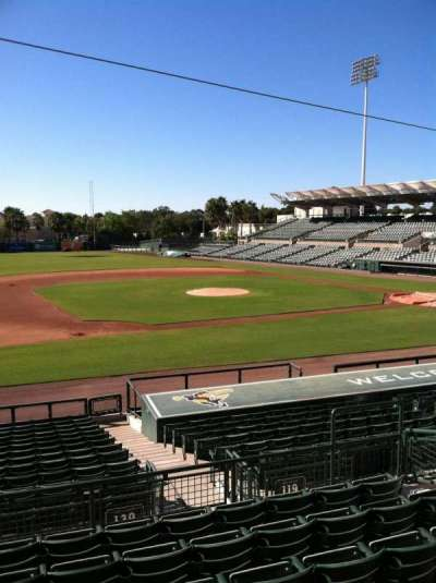 Ed Smith Stadium, section: 219, row: 7, seat: 12