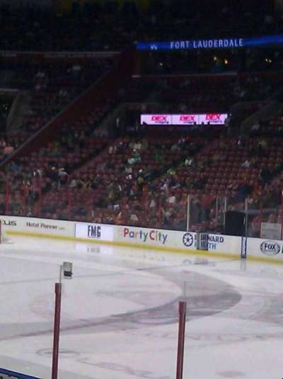 BB&T Center section 116