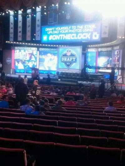 Radio City Music Hall section orchestra 2