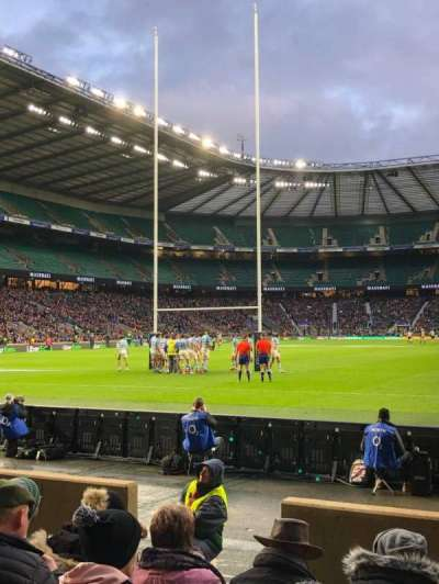 Twickenham Stadium section L14
