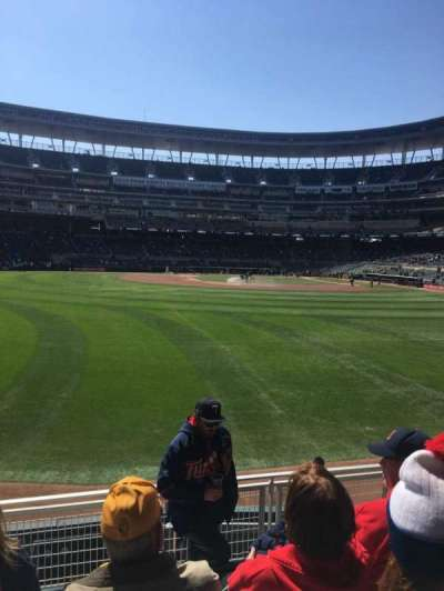 Target Field section 130