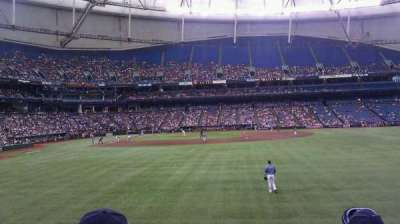 Tropicana Field, section: 144, row: W, seat: 12