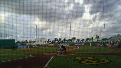 McKechnie Field, section: Box 3, row: 5, seat: 5