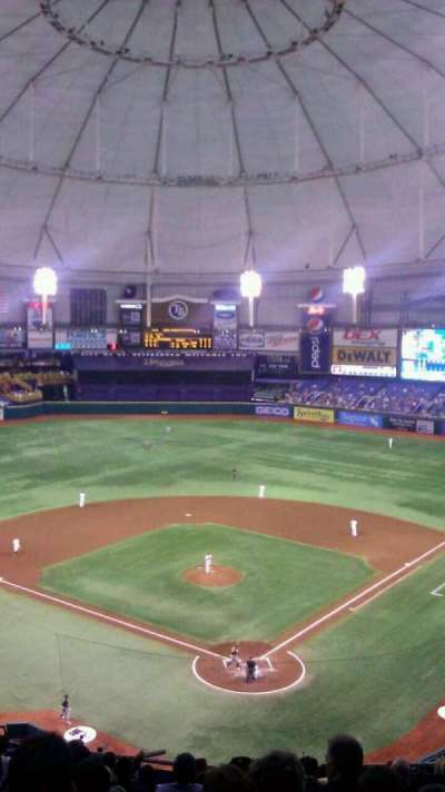 Tropicana Field section 301