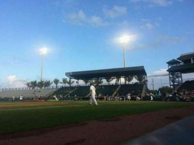 McKechnie Field, section: Box 11, row: 1, seat: 14