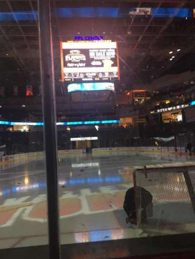 PPL Center, section: 121, row: 2, seat: 15