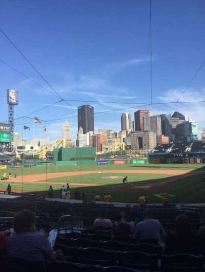 PNC Park, section: 117, row: J, seat: 20
