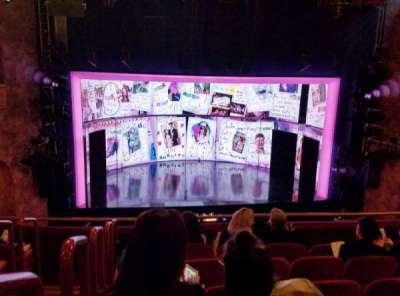 August Wilson Theatre, section: MEZZC, row: F, seat: 115