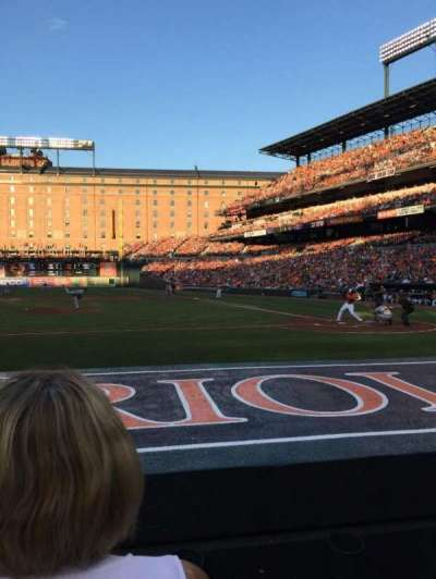 Oriole Park at Camden Yards section 50