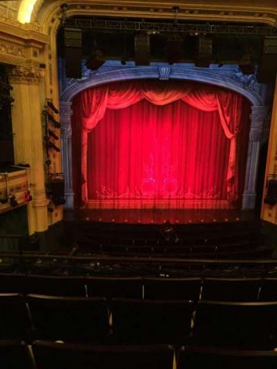 Hudson Theatre, section: Dress Circle, row: E, seat: 105