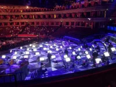 Royal Albert Hall section West Choir