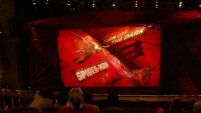 Lyric Theatre, section: Dress Circle, row: H, seat: 102