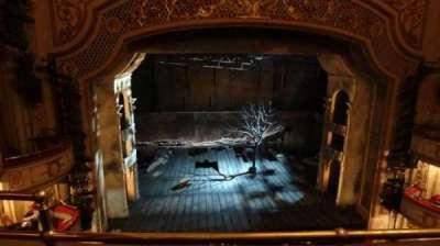 Cort Theatre, section: Balcony, row: B, seat: 102