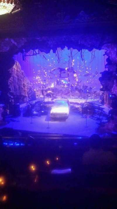 Belasco Theatre, section: Mezzanine, row: F, seat: 4