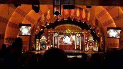 Radio City Music Hall, section: First Mezzanine 5, row: H, seat: 508