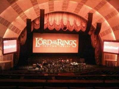 Radio City Music Hall, section: Second Mezzanine 5, row: D, seat: 510