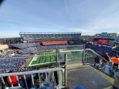 Gillette Stadium section 333