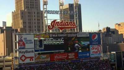Progressive Field section 558