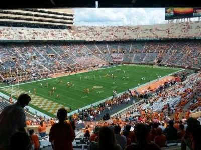 Neyland Stadium section X4