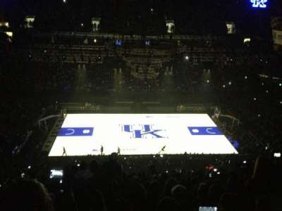 Rupp Arena, section: 213, row: T, seat: 30