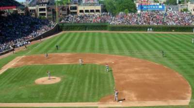 Wrigley Field, section: 429, row: 2, seat: 9