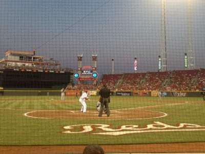 Great American Ball Park section 2