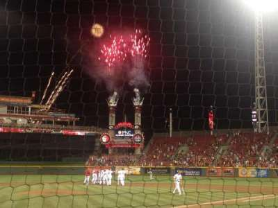 Great American Ball Park, section: 3, row: 2, seat: 10