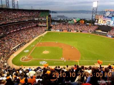 AT&T Park, section: 308, row: 14, seat: 5