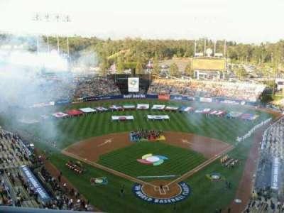 Dodger Stadium, section: 3TD, row: B, seat: 10