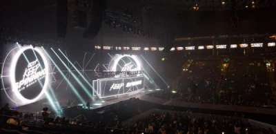 Oakland Arena, section: 115, row: 17, seat: 4