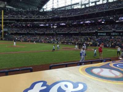 Miller Park, section: 122, row: 5, seat: 12