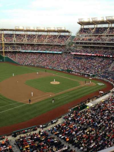 Nationals Park, section: 305, row: A, seat: 15