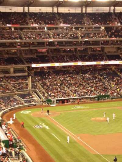 Nationals Park, section: 228, row: M