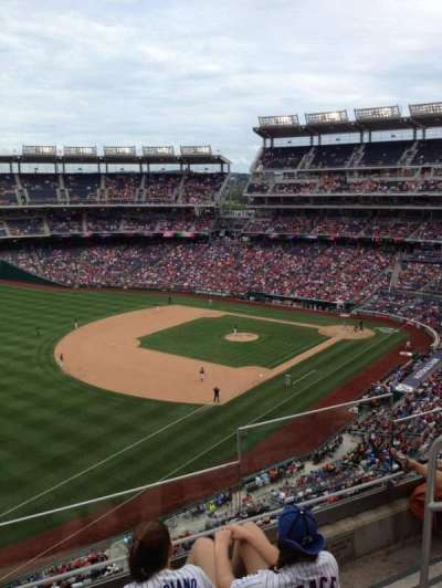 Nationals Park section 303