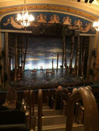 Gerald Schoenfeld Theatre, section: Left Mezzanine, row: G, seat: 1