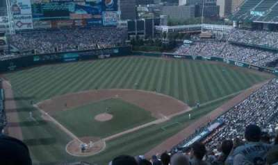 Progressive Field section 552