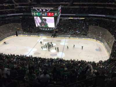 American Airlines Center, section: 309, row: G, seat: 5
