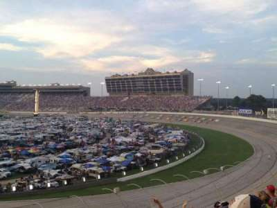 Atlanta Motor Speedway, section: Elliot Grandstand 53, row: 21, seat: 1